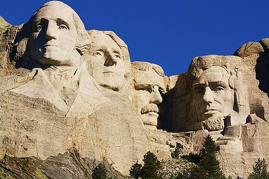 Mt Rushmore by Russell  Barton