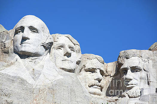 Mt. Rushmore by Steven Frame