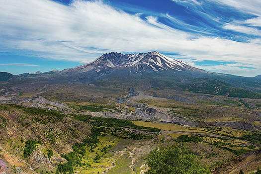 Mt Saint Helens Washington by Kimberly Blom-Roemer