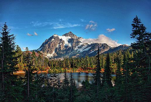Mt. Shuksan  by Edward Coumou