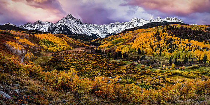Mt. Sneffels Fall COlors by Ryan Smith