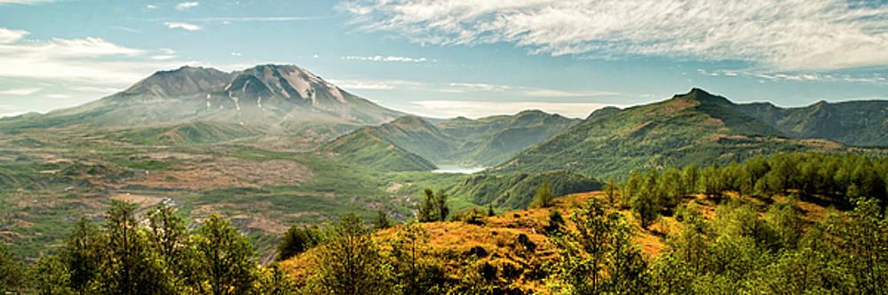 Brian Harig - Mt St Helens I Panorama -