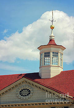Mt Vernon Cupola by Karen Adams