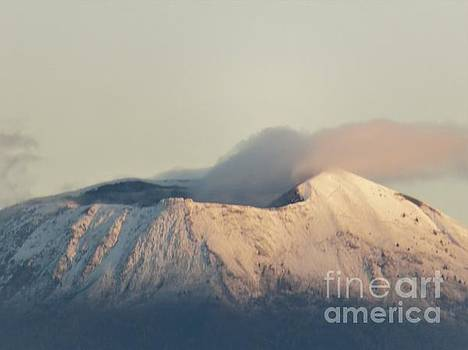 Mt. Vesuvius in Winter by Laurie Morgan