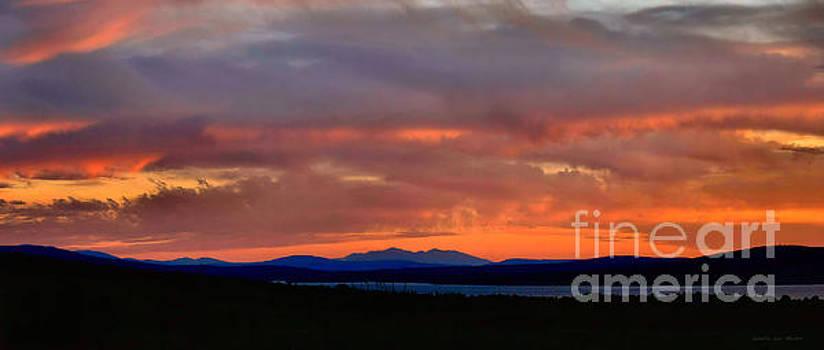 Sandra  Huston - Mt Washington at Dusk