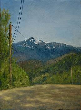 Mt. Washington from Pear Mt. Rd. by Aline Lotter