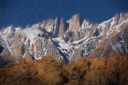 Mike Penney - Mt. Whitney painting