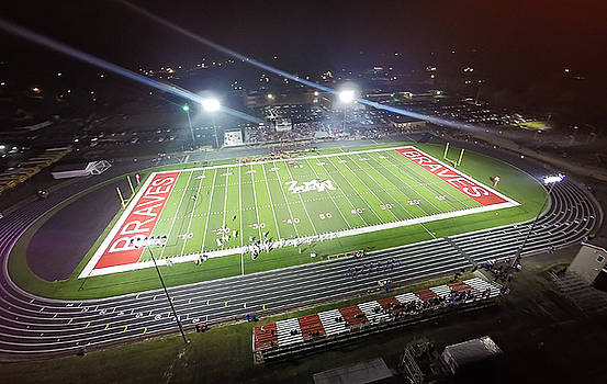 Mt. Zion Football Field by George Strohl