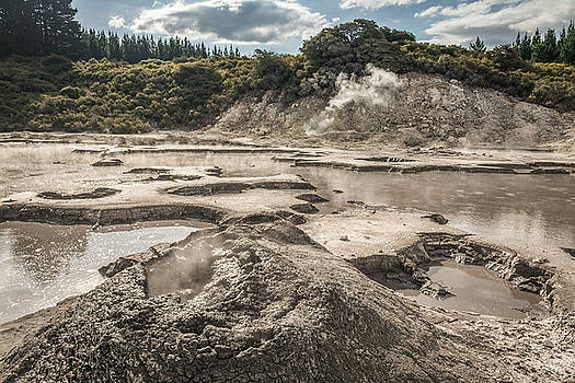 Mud Volcano by Racheal Christian
