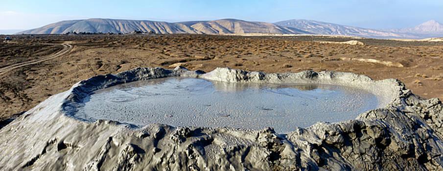 Mud vulcano by Fabrizio Troiani