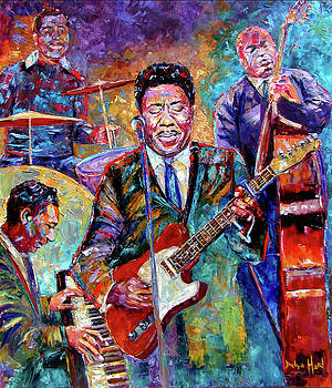 Muddy Waters and His Band by Debra Hurd