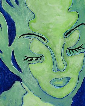 Pegeen  Shean  - Mug Shot Blue