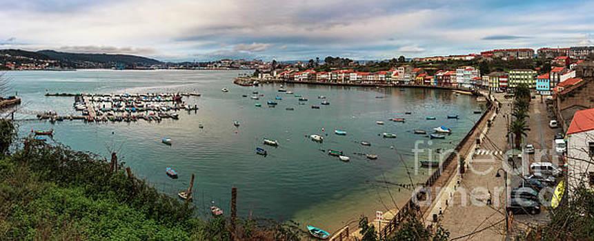 Mugardos Port Panorama La Coruna Spain by Pablo Avanzini