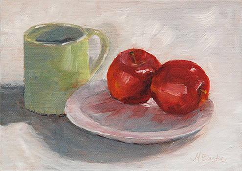 Mary Benke - Mugging for Apples