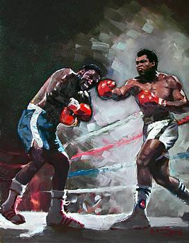 Ylli Haruni - Muhammad Ali and Joe Frazier