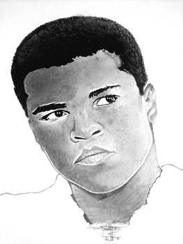 Muhammad Ali  by Keeyonardo