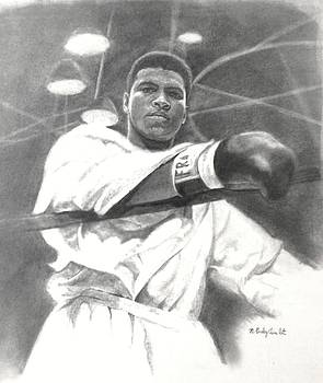 Young Cassius Clay by Noe Peralez