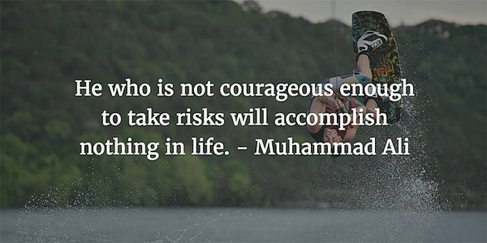 Muhammad Ali Quote by Matt Create