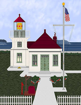 Mukilteo Light by Anne Norskog