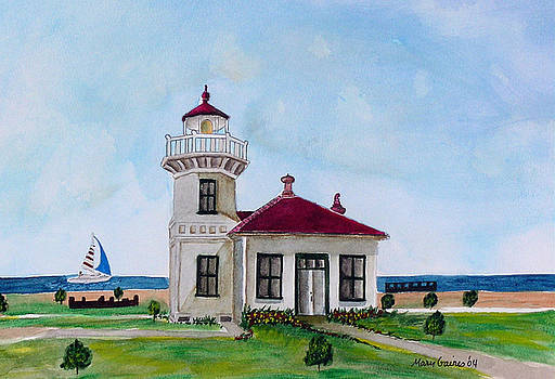 Mukilteo Lighthouse by Mary Gaines