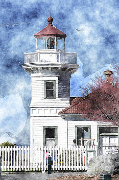 Mukilteo Lighthouse by Sylvia Blaauw