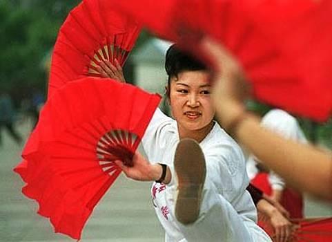 Mulan Dancer by Aimee K Wiles-Banion