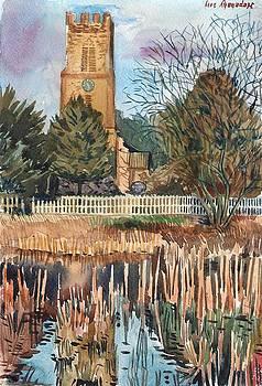 Mulbarton Church by Hopebaby Pradit