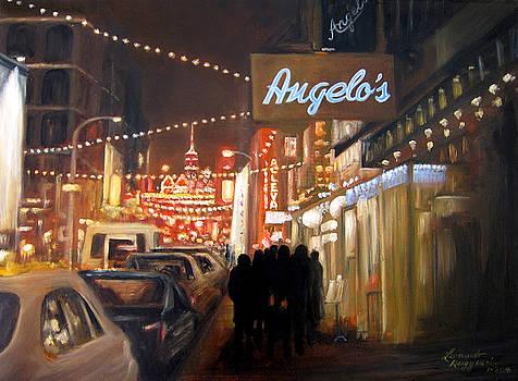 Mulberry St. NYC by Leonardo Ruggieri