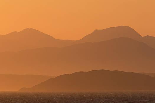 Mull Sunrise by Karen Van Der Zijden