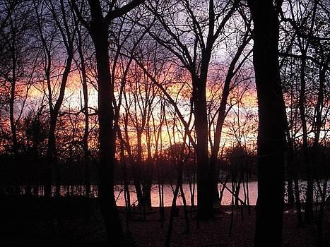 Multi-color Sunset by Deborah Finley