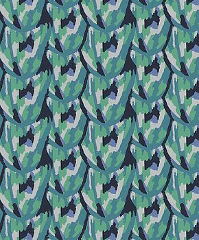 Multicolor Blue by Cortney Herron