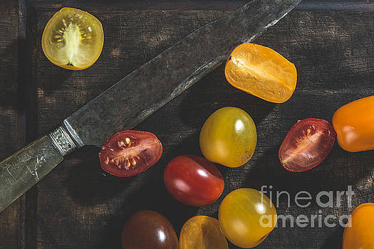Multicolored cherry tomatoes by Deyan Georgiev