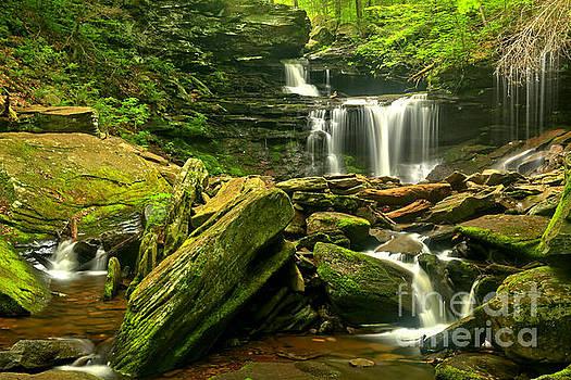 Adam Jewell - Multiple Waterfall Cascade