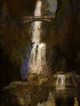multnoma falls - Oregon by Jeff Burgess
