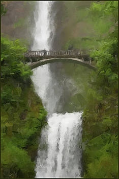 Multnomah Falls 2016 by Gary Grayson