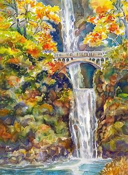 Multnomah Falls by Ann Nicholson