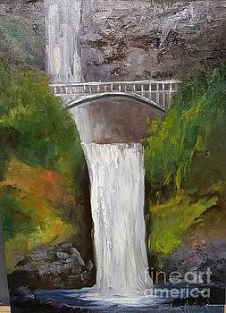 Multnomah Falls by Barbara Haviland