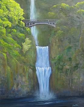 Multnomah Falls by Paintings by Parish