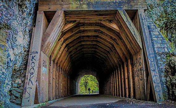Multnomah Tunnel Scene by Chaznik Raab