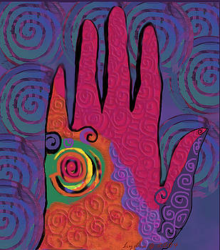 Lydia L Kramer - Multo-colored Hand