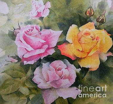 Mum's Roses by Sandra Phryce-Jones