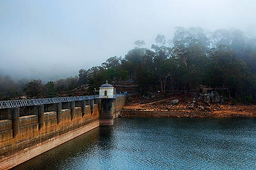 Mundaring In Mist by Heather Thorning