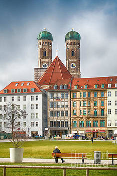 Munich Impression III by Juergen Klust