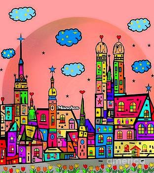 Munich Popart by Nico Bielow by Nico Bielow