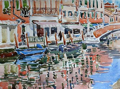 Murano Canal by Owen Hunt