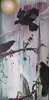 Murder of Crows by Susan Snow Voidets