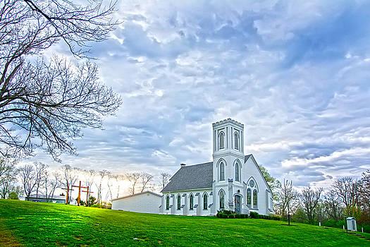 Randall Branham - Murdock Church at Dawn