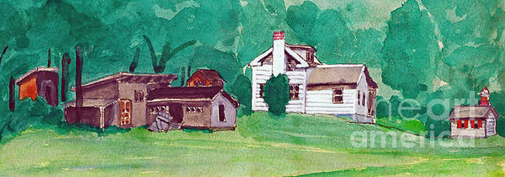 Murray Hill Watercolor by Fred Jinkins