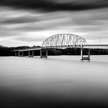Muscatine High Bridge by Gary Harris