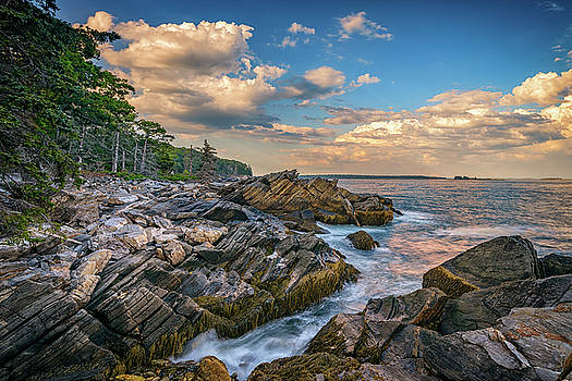 Muscongus Bay by Rick Berk